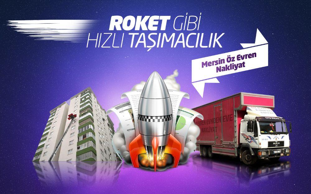 Mersin Evden Eve Roket Gibi Hızlı Taşımacılık