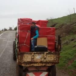 Kötü Hava Şartlarında Engel Tanımayan Taşımacılık
